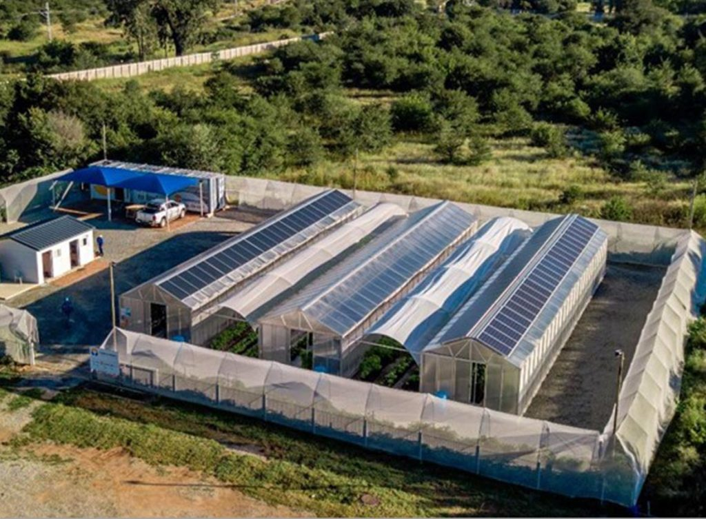Food & Energy-Anlage in Potchefstroom, Südafrika