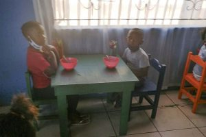 School meal – often the only meal of the day