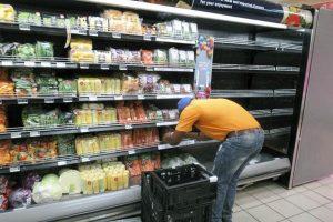Gemüse aus der Food & Energy-Anlage im lokalen Supermarkt