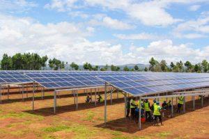 Installationsschulung an neuer Food & Energy Anlage