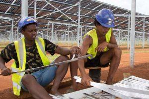 Photovoltaik-Installationstraining