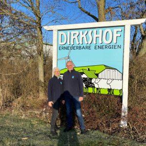 Dirk und Thoma Ketelsen vom Dirkshof in Schleswig-Holstein unterstützen FEED